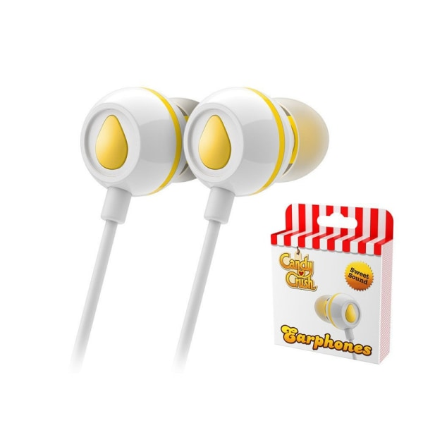 Candy Crush Sweet Earphones - Lemon