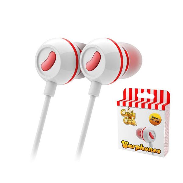 Candy Crush Sweet Earphones - Strawberry