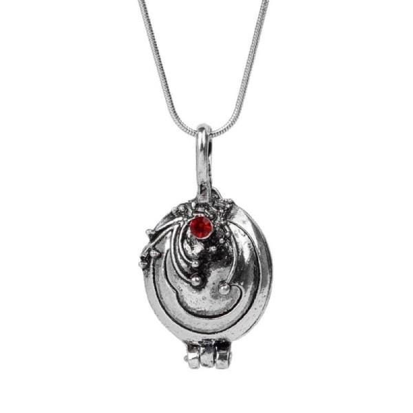 The Vampire Diaries Elena Gilbert Vervain Halsband silver