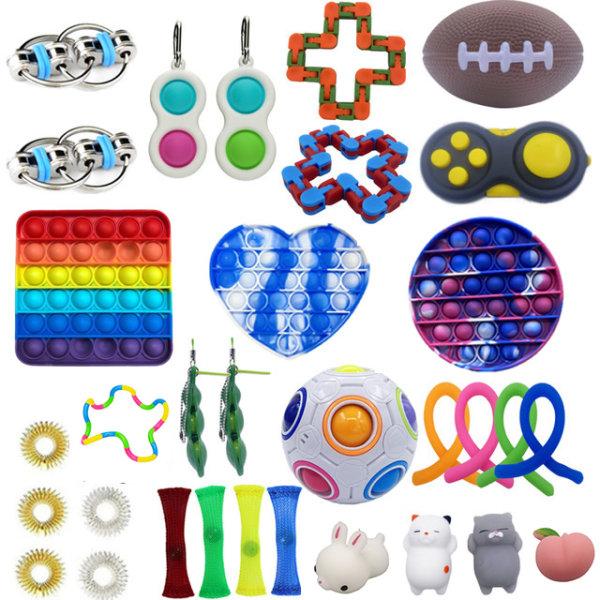 32 st Fidget Toys Set för barn och vuxna