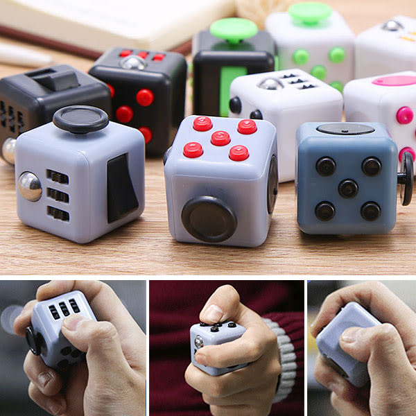 Decompression Resist Anxiety Dice  Fidget busy Rose