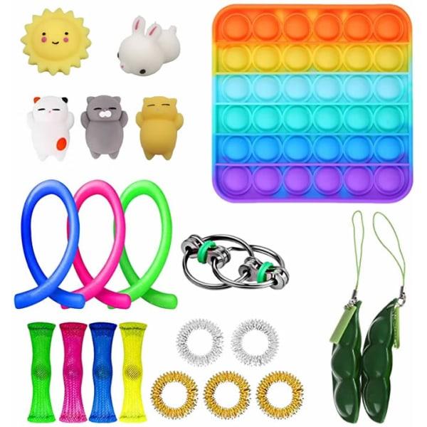 Fidget Toys Set Sensoriska leksaker billigt för barn vuxna (21-pack)