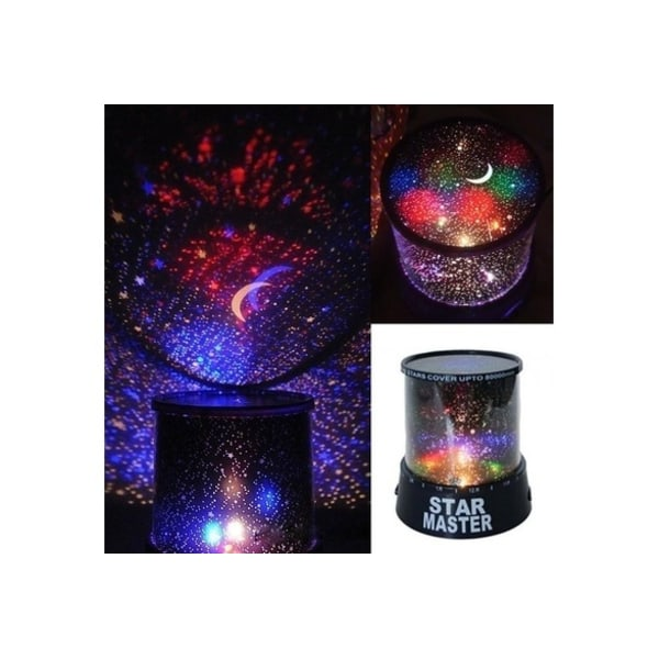 LED Starry Night Light Cosmos Projector Lamp MultiColor