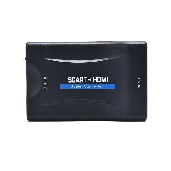 1080P SCART to HDMI AV Signal Adapter HD Receiver TV Scart to HD
