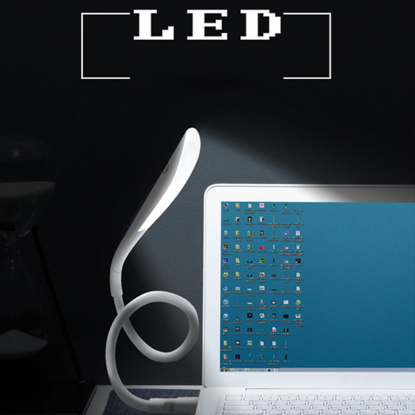 14LEDs Luminaria Flexible Touch USB Light Ultra Bright Portable  Blue