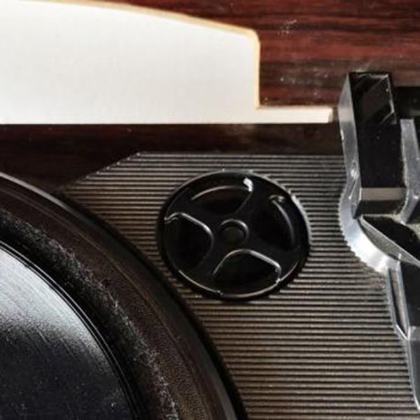 1 PC 45 RPM-adapter Hållbar plastcentrumadapter för 7-tums EP