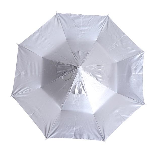 1PC Vikbart huvud Paraplyhatt Regnutrustning Fiskehatt Huvudbonader U