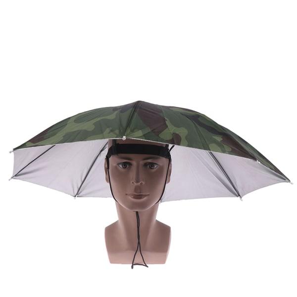 1 st vikbar paraplyhatt Fiske Vandring Camping Strandhuvudbonader