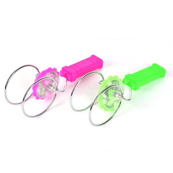 1 st Gyro Gyroskop Magic Track yo-yo Led Gyro Leksaker För Present Spi
