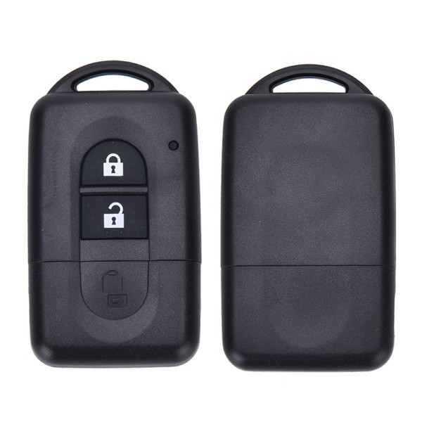 2 Button Remote key FOB Case FOR Nissan MICRA Xtrail QASHQAI JUK