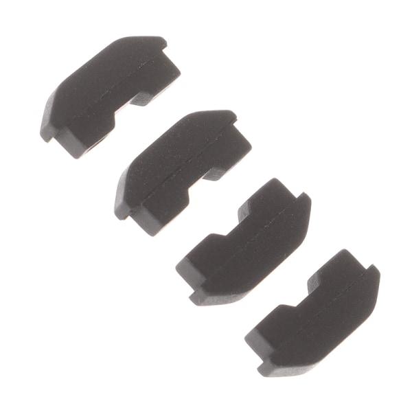 2 par nya dammsäkra gummikuddar förhindrar skydd för PS4-konsolen