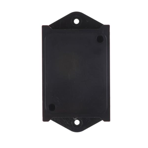 2st Svart plastprojekt Power Protector Case Junction Box 55