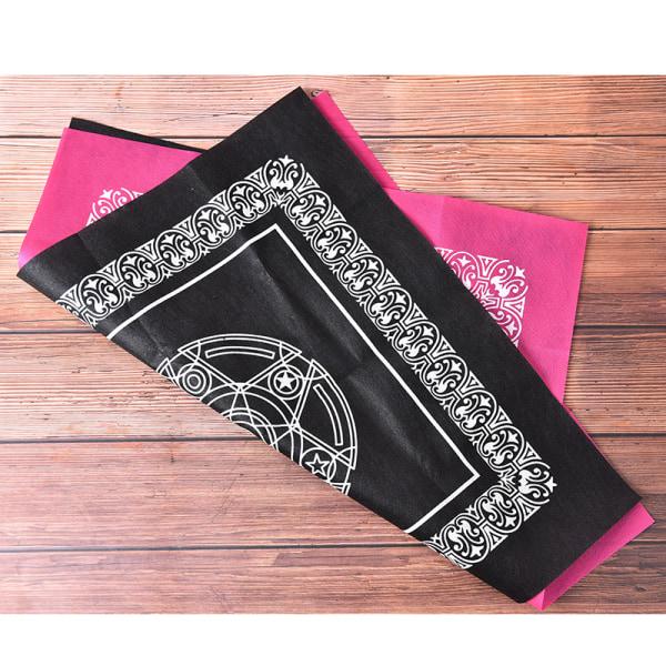 2st två färger Tarot spel bordsduk textil tarots fliken