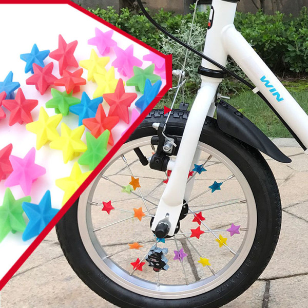 36st cykelhjul ekade plastpärlor dekoration cykelcykling