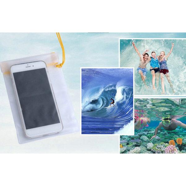 3st vattentät kamera mobiltelefonpåse PVC torrväska för