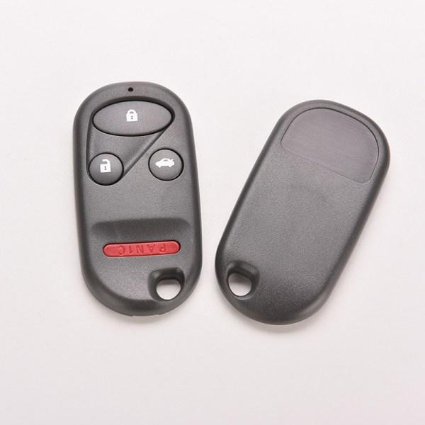 4-knapps fjärrnyckelfodral Shell Fob Clicker för Accord 1998-2002