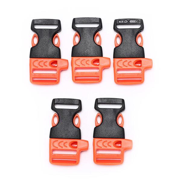 5st Survival Whistle Buckle Plastic Buckles For Paracord Brace