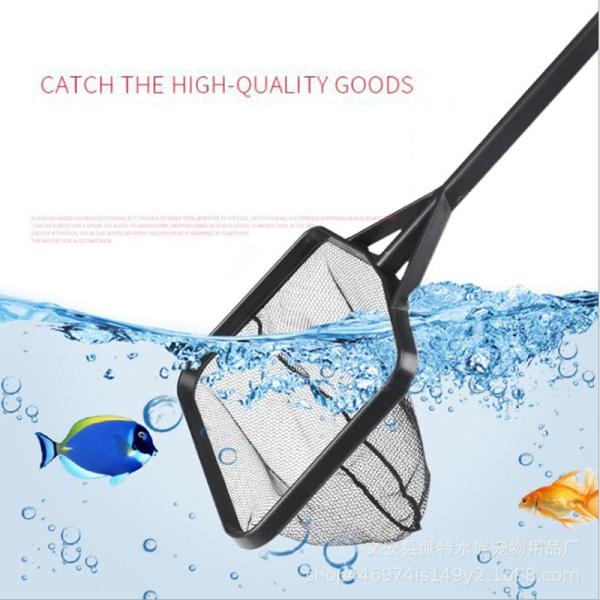 akvarium nät tropisk fisk nät kvadrat räkor liten tetra fisk ta 2(44CM)