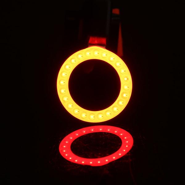 Cykellampa USB-lampa LED-bakljus
