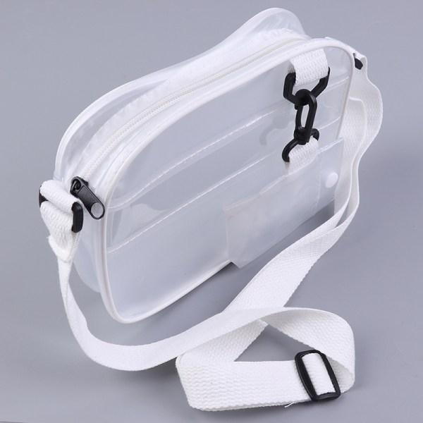 Causual PVC Transparent Frosted Woman Crossbody Bags Handväska Je