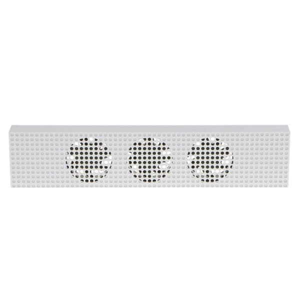 Kylfläkt Inbyggd 3 höghastighetsfläktar för 2-port USB-laddning Fo