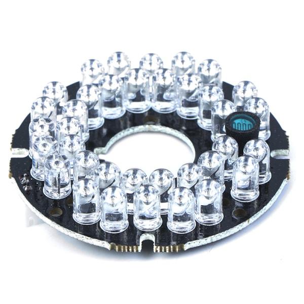Infrarött ljus 36 Grain 850nm IR LED-kort för övervakningskamera