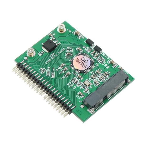 mSATA Mini PCI-E SSD till 1,8 '' '44-stifts hane IDE-omvandlare anpassad