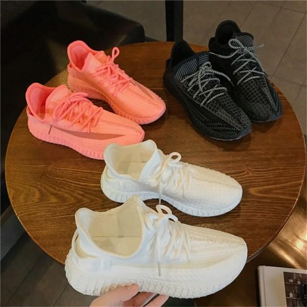 nya mode kvinnors tjocka sneakers damskor snörskor skor se