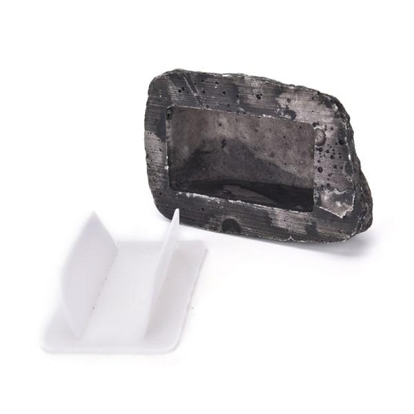 Utomhus reservdelssäker dold dölj säkerhet Rock Stone Case B
