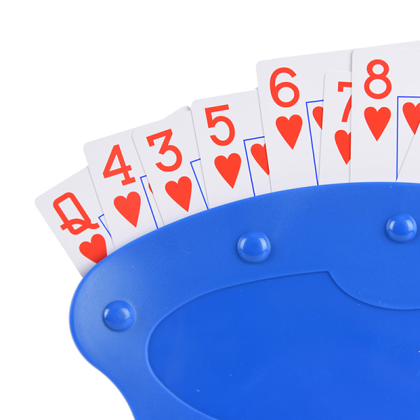 Playing card Holder poker base game organizes hands for easy play poker stand od