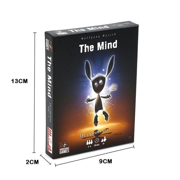Mind Card Game Puzzle Card Game Card Party Game Brädspel