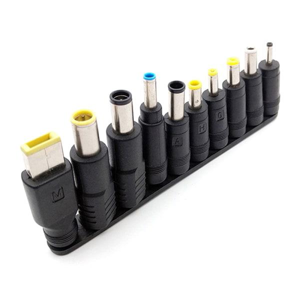 Tips Universal Jack DC 5,5 mm x 2,1 mm kontakter Laddningsomvandlare