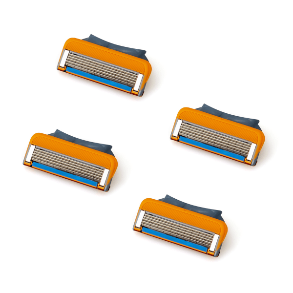 4-Pack rakblad Gillette Fusion/Power/Proglide kompatibla