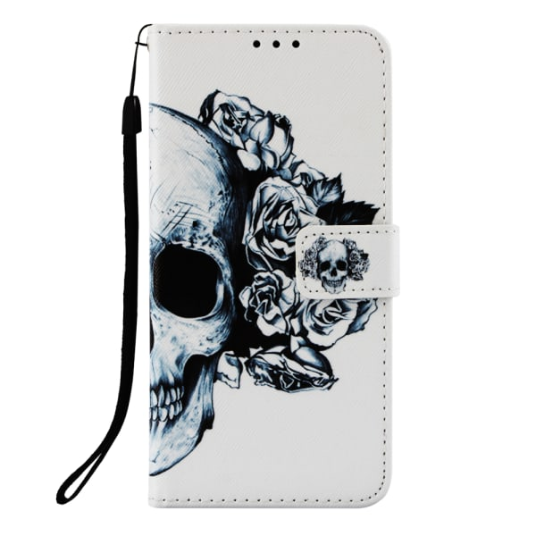 Dödskalle iPhone 7/8 Plånboksfodral skull