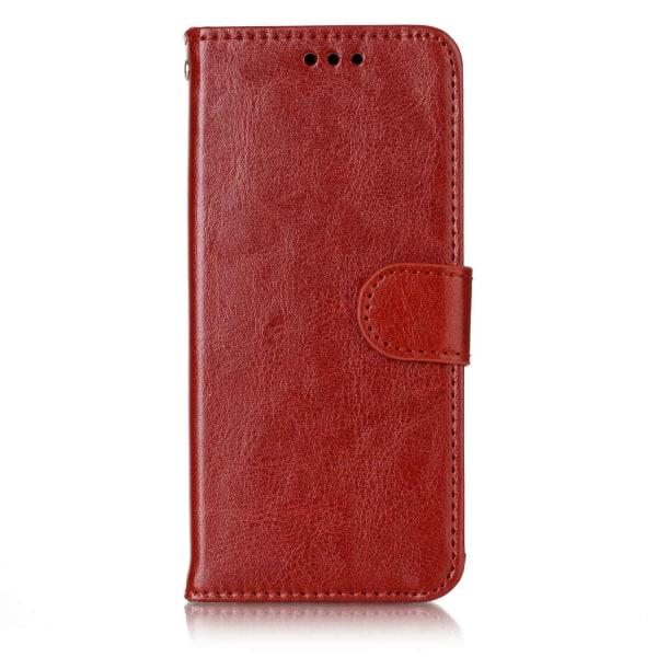 Huawei Honor 9 - Plånboksfodral brown