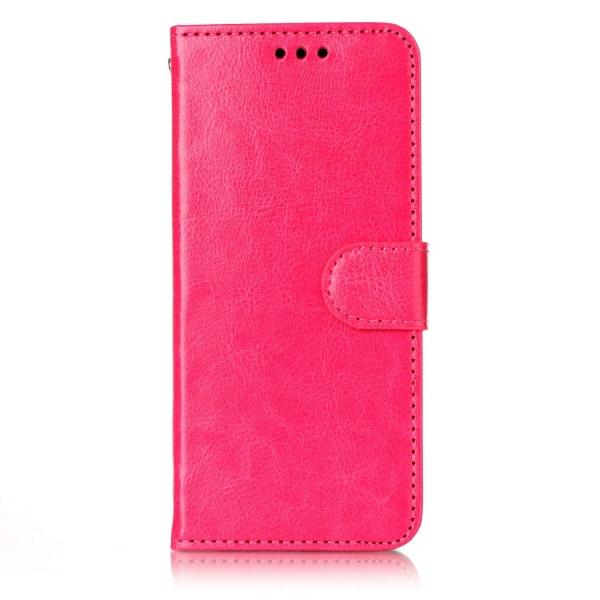 Huawei P20 pro - Plånboksfodral mörk rosa