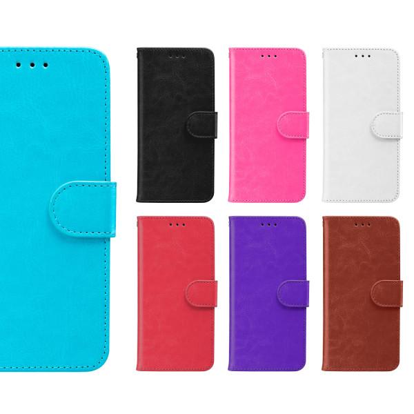 iPhone 6/7/8/SE (2020) - Plånboksfodral Välj Färg svart