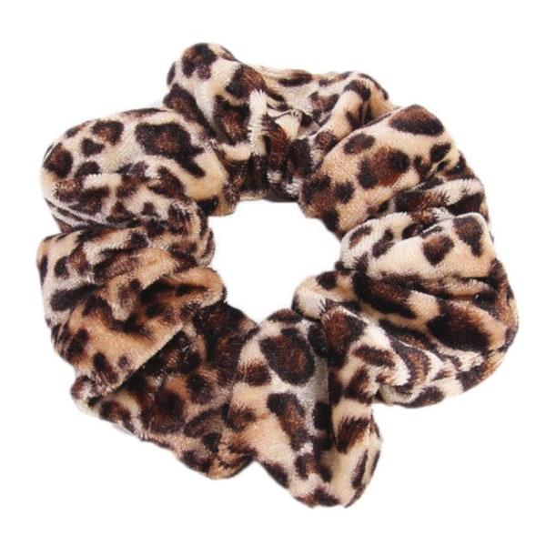 Hårsnodd - Scrunchie - Leopard MultiColor 1-pack