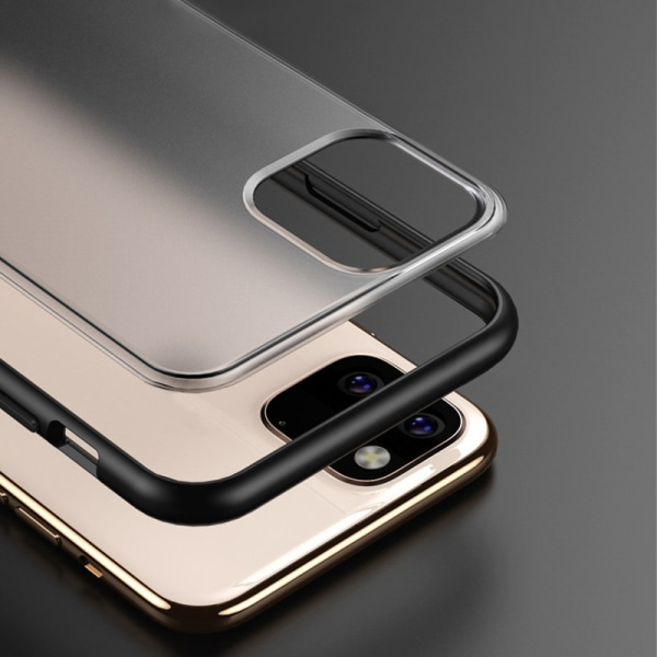 iPhone 11 Pro | Bumperskal, Genomskinlig Baksida  Transparent