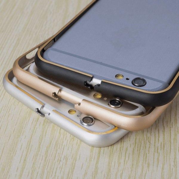 iPhone 6/6s plus Aluminiumbumper Ultratunn & Superlätt grå