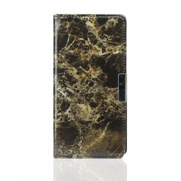 Samsung Galaxy S10E | Plånboksfodral med Svart Marmor Svart