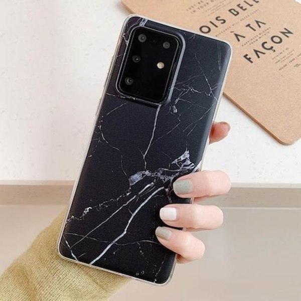 Samsung Galaxy S20   Marmorskal  Svart