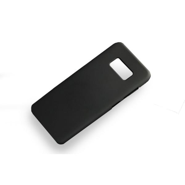 Samsung Galaxy S8 | Mjukt Mobilskal! Svart