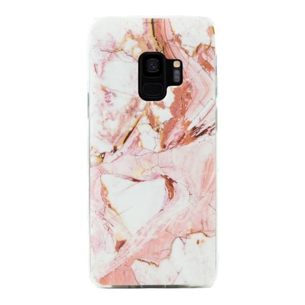 Samsung Galaxy S9   Mjukt Marmorskal, Flera Färger! Rosa