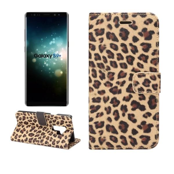Samsung Galaxy S9 + | Plånboksfodral i Leopard, Flera Färger! Brun
