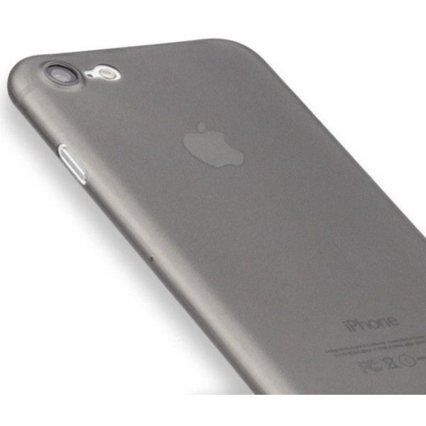 Supertunt Skin till Iphone SE (2020) - 0,3mm grå