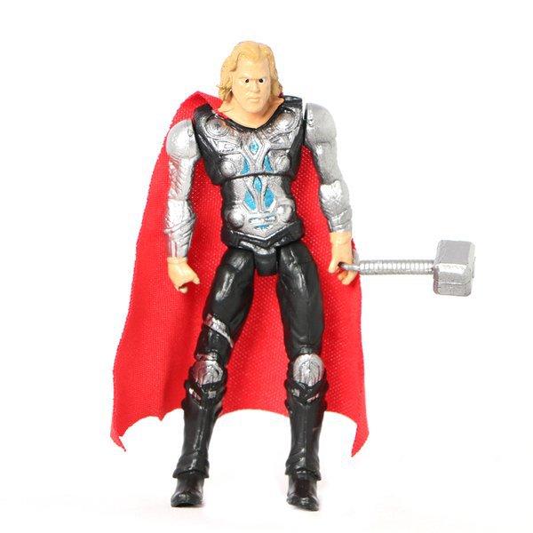 AVENGERS Superman, Batman, Hulken (6st /set) Superhjältar MultiColor