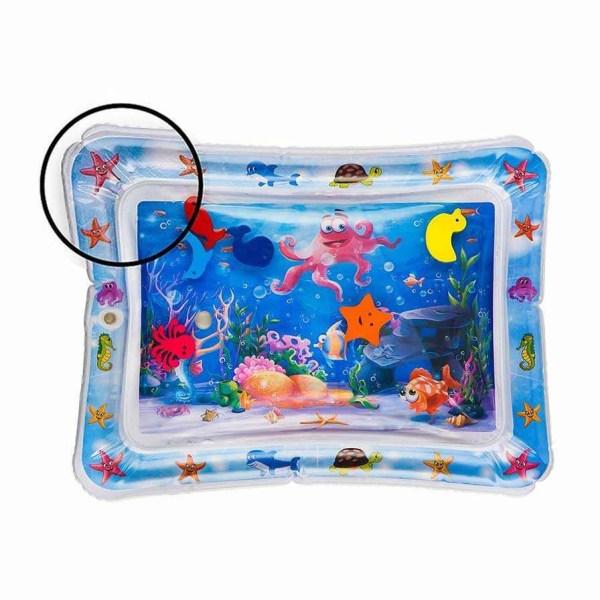 Baby vattenmatta - många funktioner! multifärg