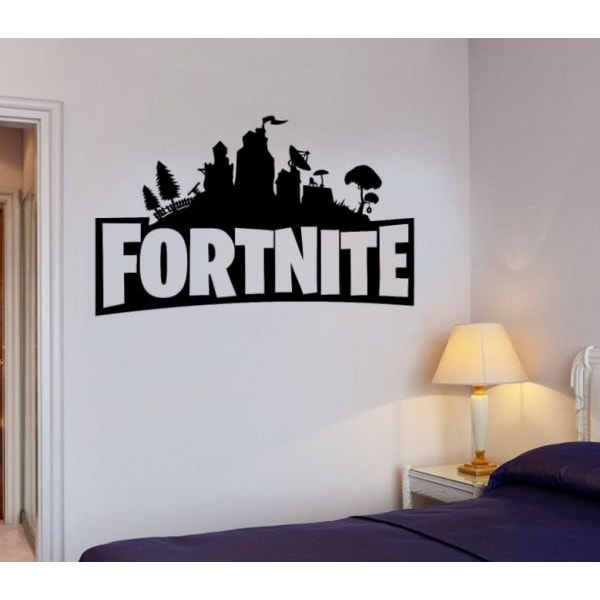 Fortnite Väggdekor / sticker -  stor 60 x 33 cm
