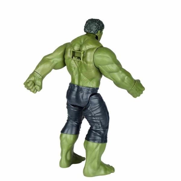 Hulken actionfigur Marvel Avengers Titan Hero ca 30 cm lång
